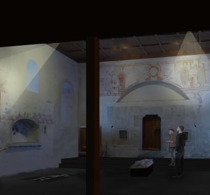 Ritterhaus Bubikon, künftige Inszenierung Kapelle