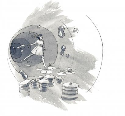 Hypi-Story Szene Zwischenillustration © Joe Rohrer und Raphael Gschwind