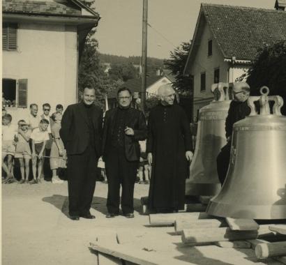 Oberrohrdorf Glockenaufzug 1955