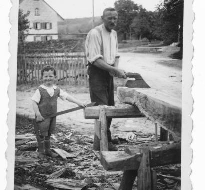 Baldingen Zimmermann Binder um 1930