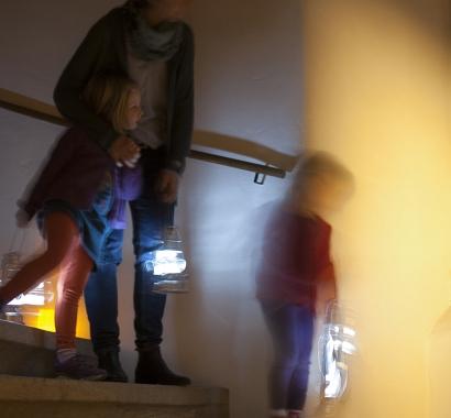 «Guten Abend Herr und Frau Landvogt» Treppenhaus