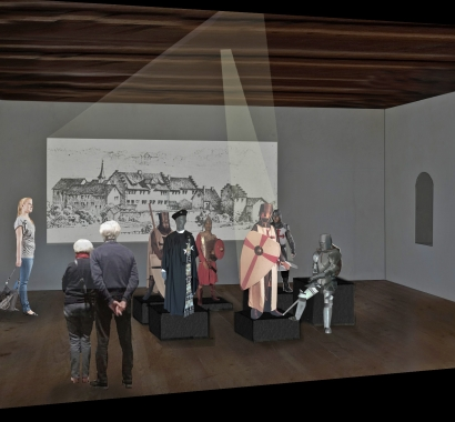 Ritterhaus Bubikon, künftige Inszenierung Ordensgeschichte