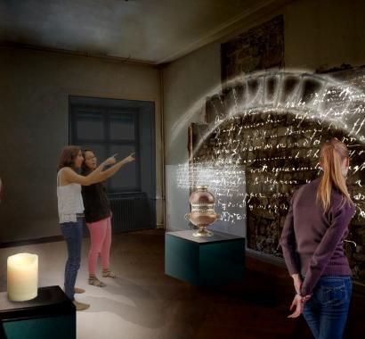 Museum Insel RheinauVisualisierung Klostergeschichte
