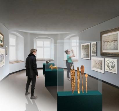 Museum Insel Rheinau Visualisierung Patientenkunst